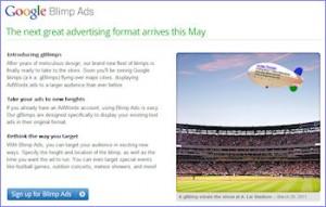 Google April Fools Prank